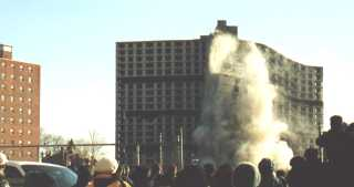 Hill Manor Implosion