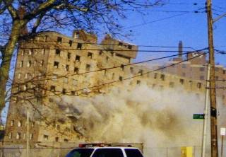 Hayes Homes Implosion